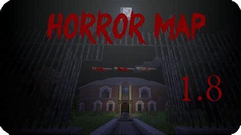 haunted house minecraft   awesome creepy horror map youtube