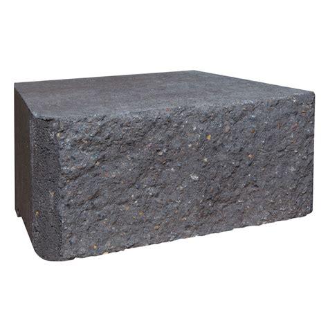 Brighton Retaining Wall Blocks brighton masonry 295 x 203 x 130mm charcoal eziwall