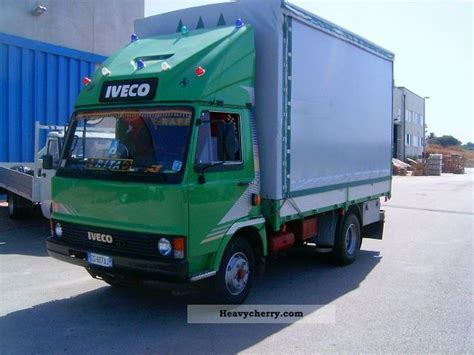 Iveco Fiat by Iveco Iveco Fiat 79 13 1990 Stake And Tarpaulin Truck