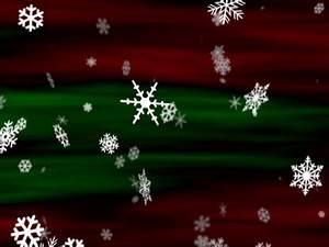 Snowflakes Red Green Loop | Vision 111 | MediaShout Store