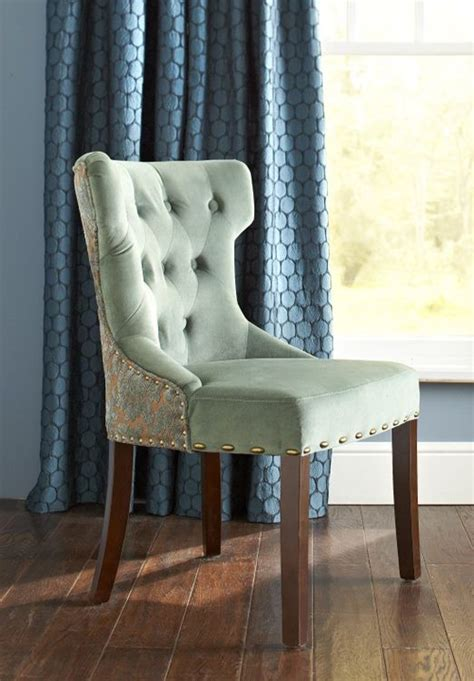 Hourglass Dining Chair Smoke Blue Damask by Smoke Blue Damask Dining Chair Tables Living Rooms And