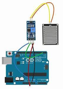 Arduino With The Rain Drop Sensor - Botland