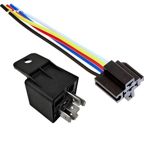 Spdt Volt Amp Heavy Duty Wire Relay Socket