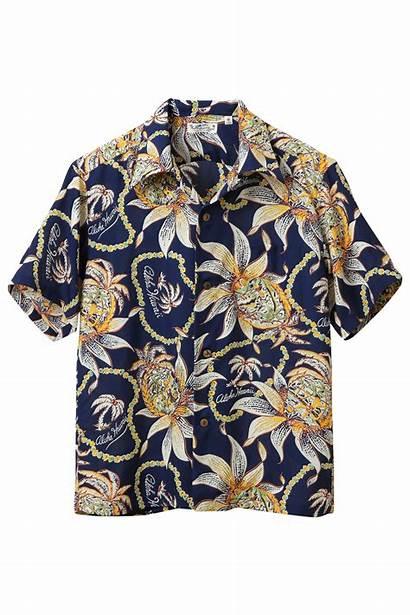 Hawaiian Sun Surf Navy Dreams Shirts Pineapples