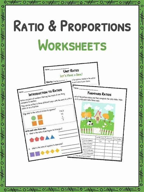 Ratio And Proportion Worksheets Kidskonnect