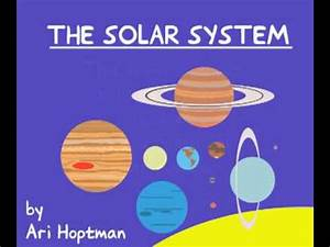 The Solar System (Kids' book) 1/3 - YouTube