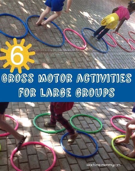 6 gross motor activities for large groups gross motor 360 | cb081981c95234a298385f76cd1f270c