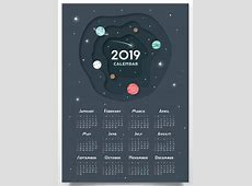 Free Printable 2019 Wall Desk Calendars Designs Monthly