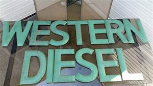 western diesel individual letters porcelain sign antique With individual letters for signs