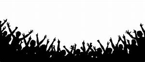 Crowd clipart hands - Pencil and in color crowd clipart hands