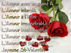 Citations Poemes Saint Valentin Mon Amour De La Saint