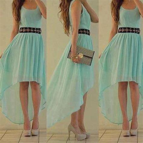 dress blue aqua cute beautiful prom prom dress long