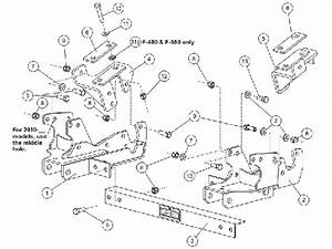 Western 31269-1 - Mount Kit Ford Sd 2010- F250