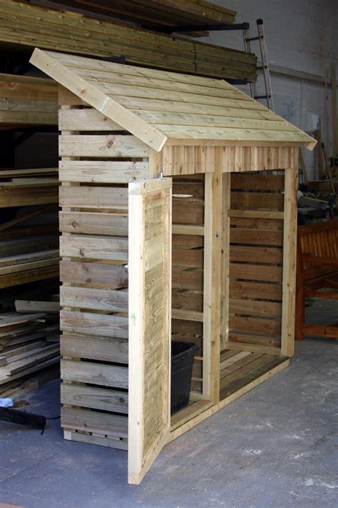 Slimline Log Store   The Wooden Workshop   Oakford, Devon