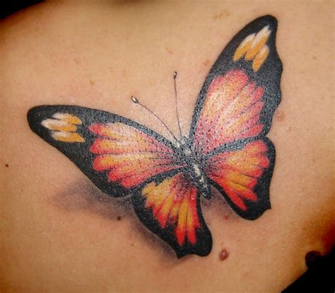beautiful butterfly tattoo design inspiration