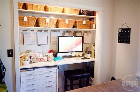 desk inside a closet closet desk design ideas