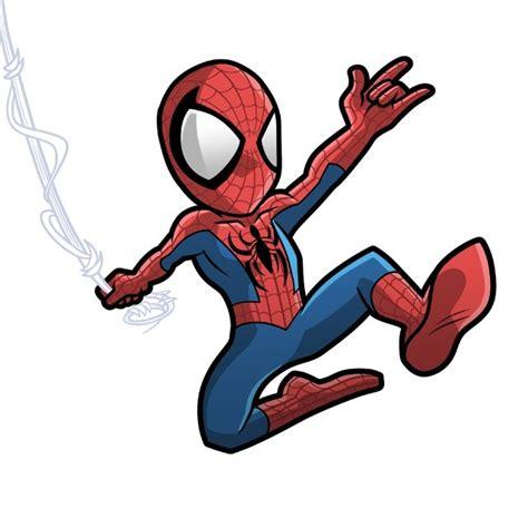 spider man cartoon drawing  getdrawingscom