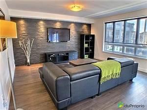 mur de pierre deco south shore tm meubles With commentaire faire la couleur taupe 8 quelle couleur pour les murs du living et de la cuisine