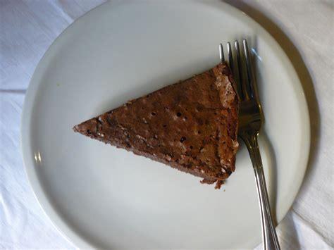 gateau au chocolat fondant de nathalie  desserts