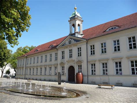 In Neuruppin by Altes Gymnasium Neuruppin