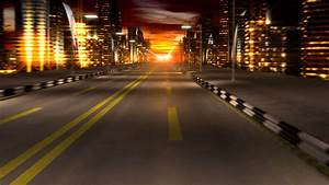 Night City Road - YouTube
