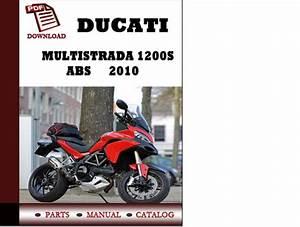 Ducati Multistrada 1200s Abs Parts Manual  Catalogue  2010