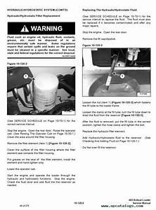 Bobcat 463 Skid Steer Loader Service Manual Pdf Download