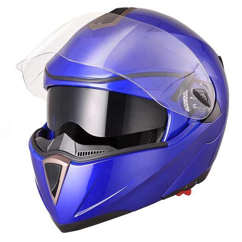 dot motocross helmets dot full face flip up motorcycle helmet dual visor bike