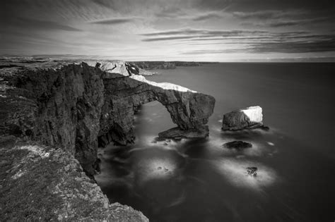 landscape photography black white  snowdonia north