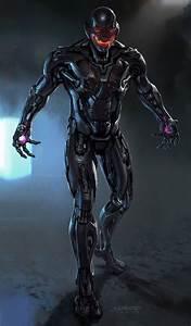 Alternate Ultron Designs For Marvel's Avengers: Age Of Ultron