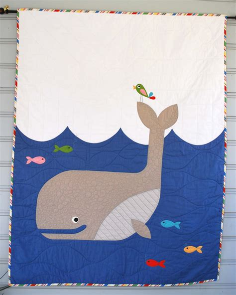 whale quilt pattern whale baby quilt the piper s