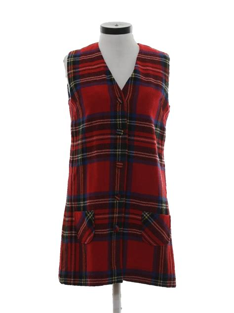 retro dress  nordstrom  womens red plaid