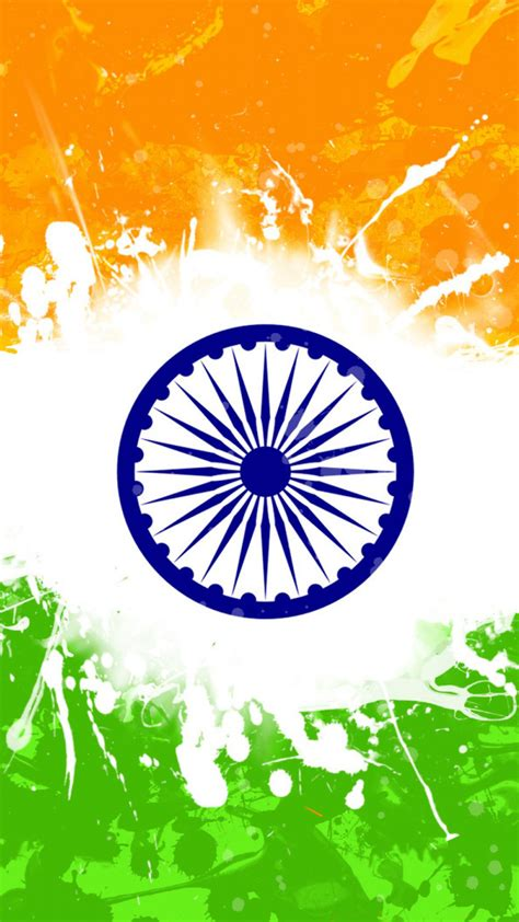 India Flag For Mobile Phone Wallpaper 06 Of 17 Artistic