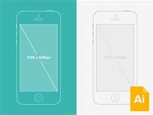 free illustrator iphone wireframe mockup vector free psd With iphone wireframe template illustrator