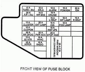 2000 Chevy Cavalier Hazard Works  Turn Signals Dont