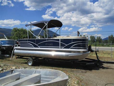 Sylvan Pontoon Boats Bc by New 2018 Sylvan 820 Cruise N Fish Kelowna Bc