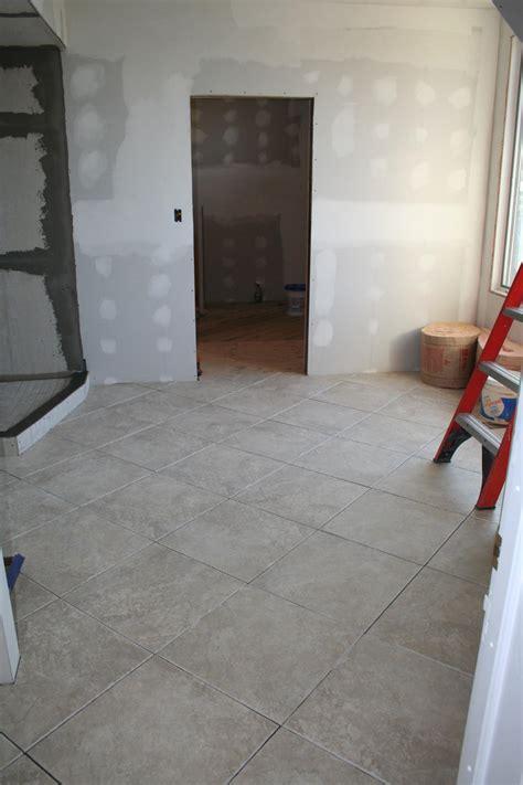 nest homes construction hot water heated bathroom floor