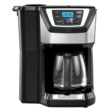 These beans are normally used before you start brewing your coffee. BLACK+DECKER 12 Cup Grind And Brew Coffee Maker | The Home ...