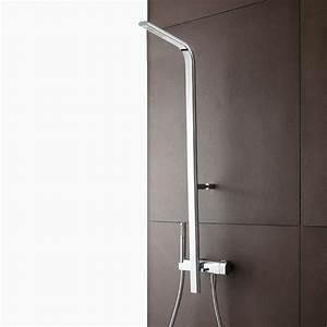 Colonne De Douche Design : colonne de douche mitigeur et pomme de douche rectangulaire pao chrom treemme ~ Preciouscoupons.com Idées de Décoration