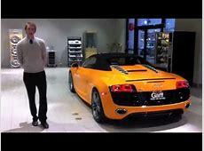 Ken Garff's Solar Orange Audi R8 V10 Spyder YouTube