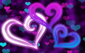 Pink Purple and Blue Backgrounds ·①