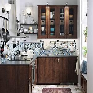 Carreau De Ciment Mural Cuisine : 10 id es pour la cuisine copier chez ikea marie claire ~ Louise-bijoux.com Idées de Décoration