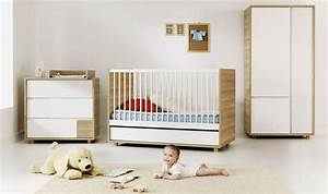 Chambre Bebe Evolutive Complete : baby vox evolve 3 meubles lit 140x70 avec tiroir commode avec plan langer armoire baby ~ Teatrodelosmanantiales.com Idées de Décoration