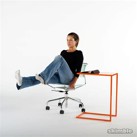 office chair wall drill free workout workout trainer