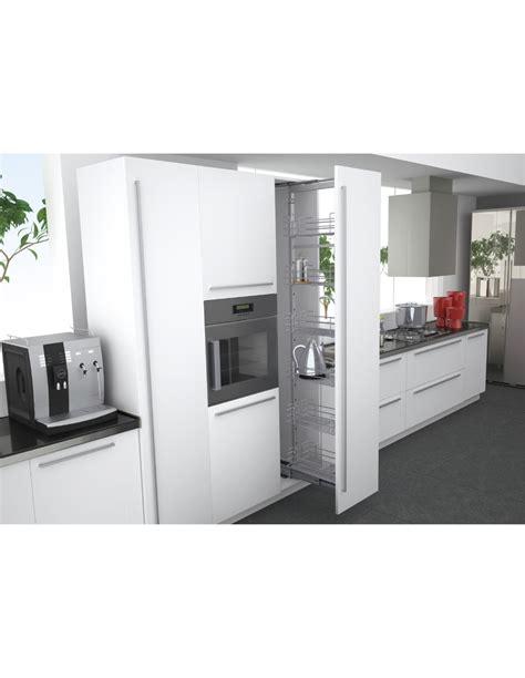 kitchen larder storage 150mm narrow pull out larder system with wine storage 2124