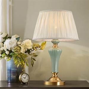 Modern, Led, Table, Lamps, Bedroom, Bedside, Lamp, Living, Room, Study, Fabric, Art, Tafellamp, Lampe, De