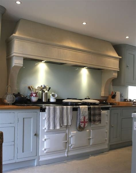 country kitchen stone canopy aga cooker hood kitchen