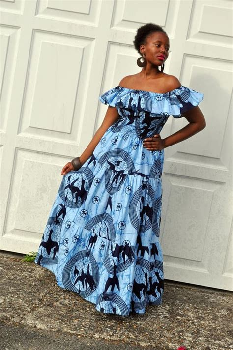 long ankara gowns styles