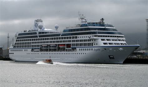 Cruise Ship U0026#39;Regattau0026#39; At Belfast U00a9 Rossographer  Geograph Ireland