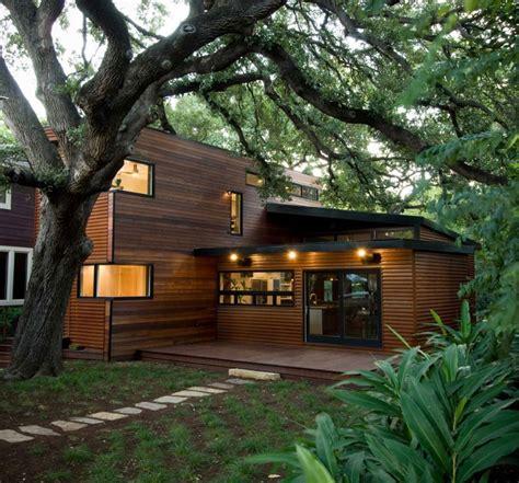 Moderne Häuser Im Wald by 20 Di Legno Dal Design Moderno Mondodesign It